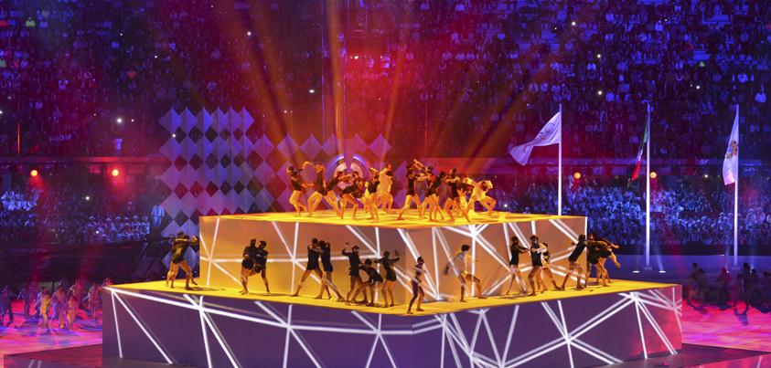 Veracruzanos disfrutan transmisión de los JCC 2014 en Alta Definición por TV Más