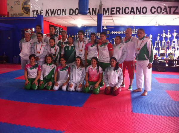 Va México por dos medallas de oro en karate