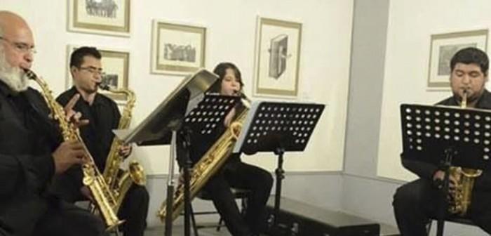 Cuarteto de Saxofones en Casa Museo Agustín Lara