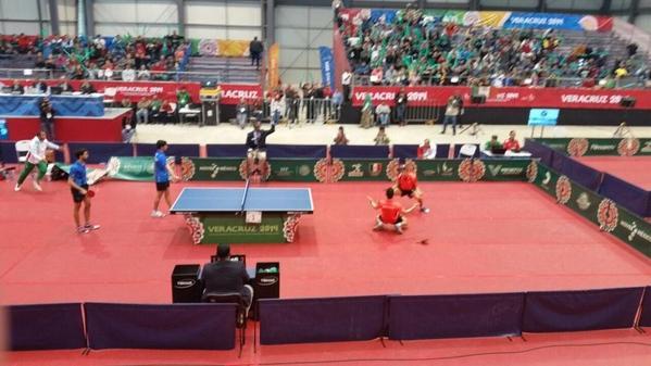 Se impone México en semifinales de tenis de mesa