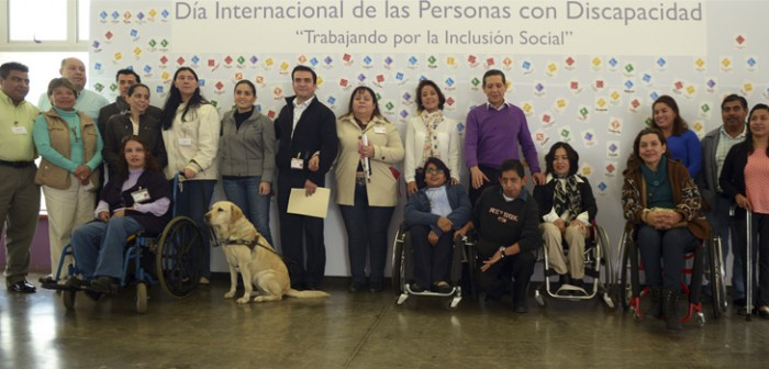 Fortalece DIF estatal, políticas de inclusión para personas con discapacidad