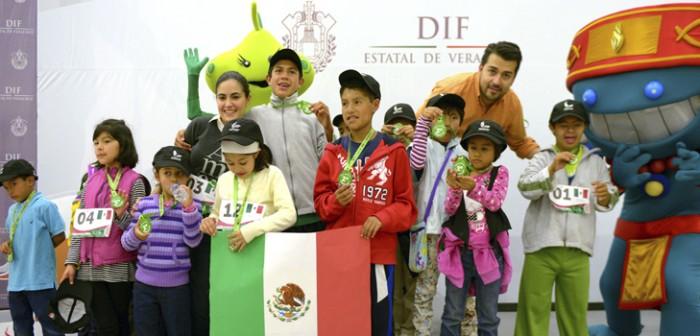 Participan niñas y niños de Conecalli en primer Mini Olimpiada Centroamericana y del Caribe