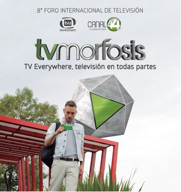 Asiste el presidente de la RED, Juan Octavio Pavón, al VIII Foro Internacional de Televisión  TV Morfosis