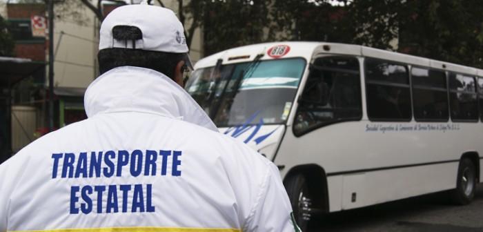 Refuerza Transporte Público seguridad a pasajeros y concesionarios