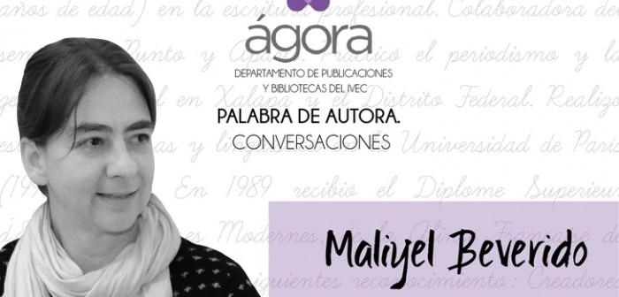 Presenta IVEC Decir, poemario de Maliyel Beverido, en el Ágora de la Ciudad