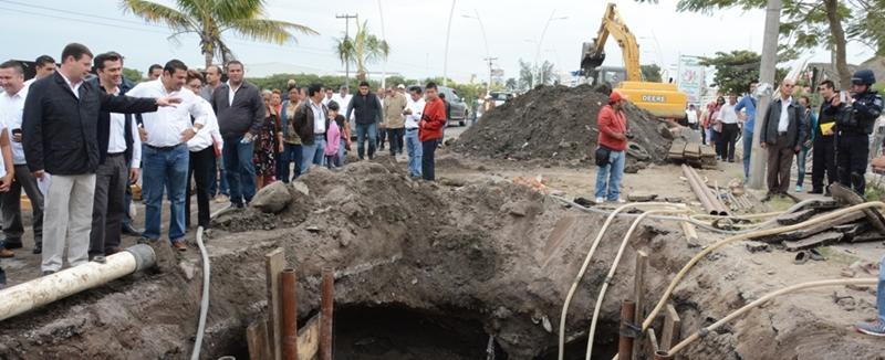 Ayuntamiento de Veracruz va por más obras de infraestructura