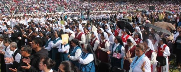 Virgen de la Inmaculada Concepción sale por primera vez de la catedral para celebrar 150 años de la Arquidiócesis de Xalapa