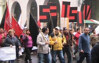 Setsuv exige aumento del 20% directo al salario