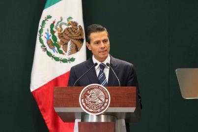 Anuncia el Presidente Enrique Peña Nieto acciones para combatir corrupción