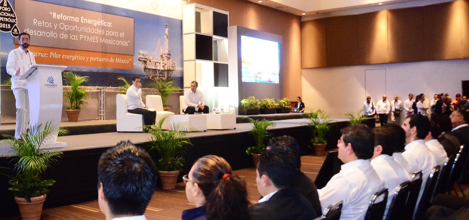 Inicia el I Foro Nacional del Petróleo 2015