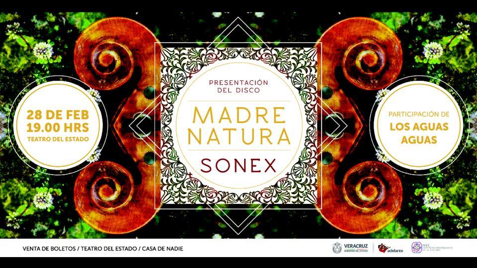 """""""Madre Natura"""", el nuevo disco de Sonex"""