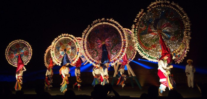 Ritmo, color y alegría con las danzas tradicionales del Totonacapan en Cumbre Tajín 2015