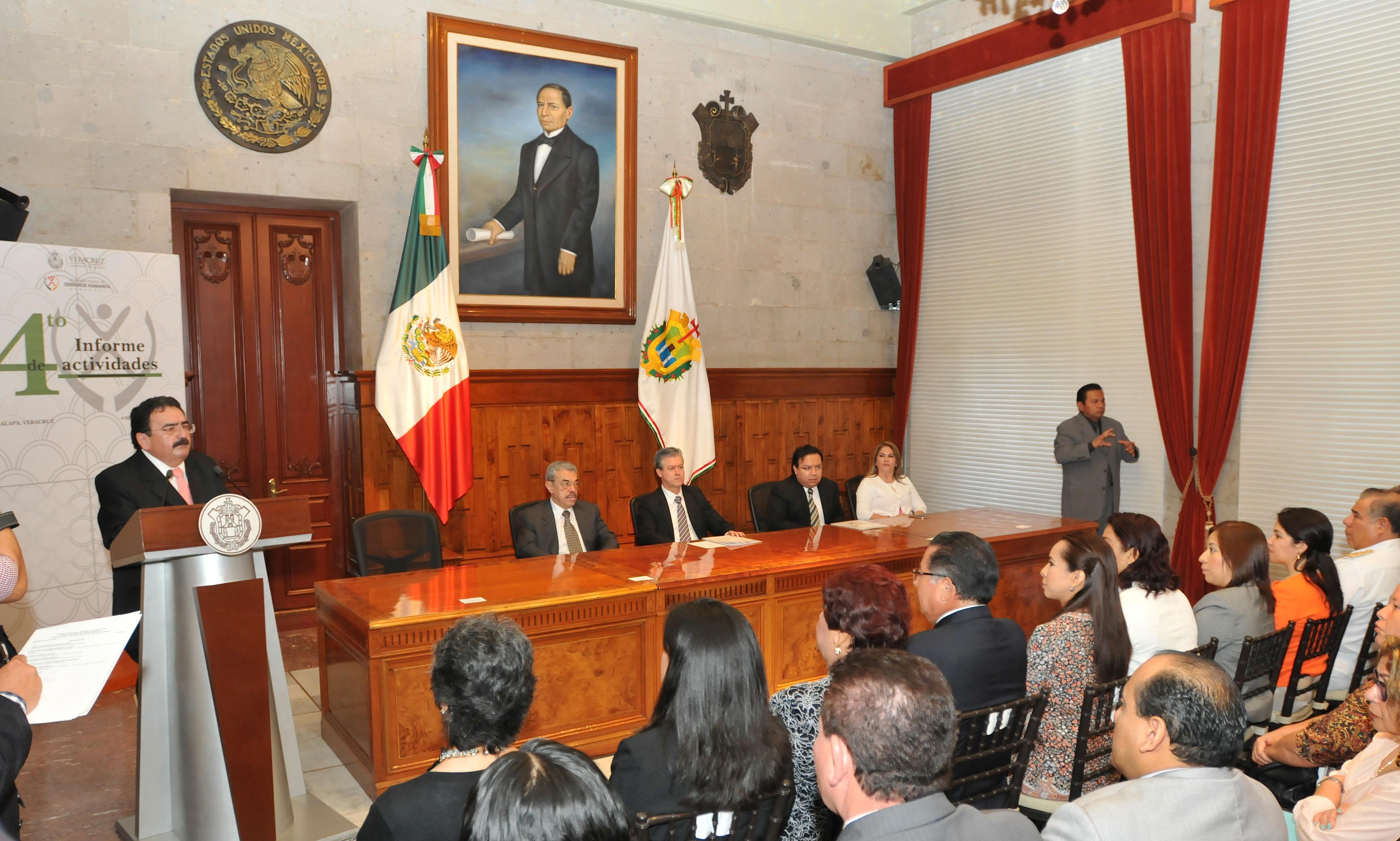 Refrenda Gobierno del Estado compromiso con el respeto y protección de los derechos humanos