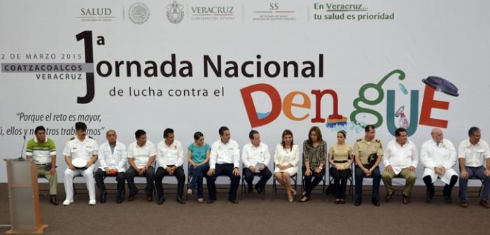 Inicia Primera Jornada Nacional de Lucha contra el Dengue