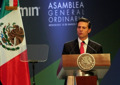Destaca Peña Nieto buen rumbo de la economía