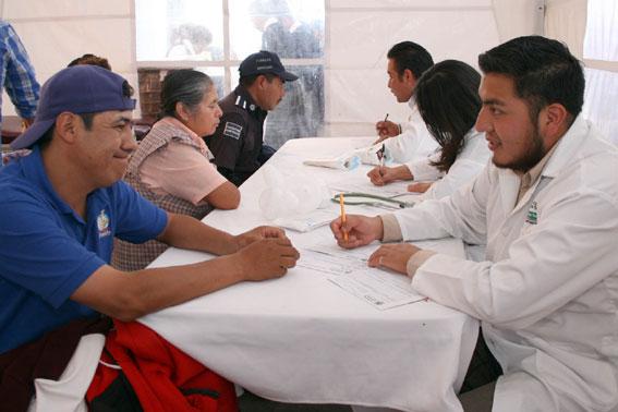 Una de las principales prioridades de la administración estatal es la salud de los trabajadores