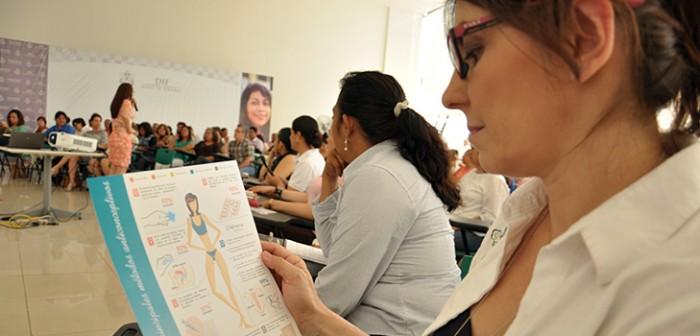 Reciben maestros de Xalapa y la región capacitación en materia de salud sexual para orientar a sus alumnos