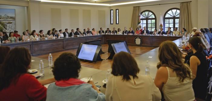 Firma Gobierno de Veracruz convenio de colaboración con Inmujeres