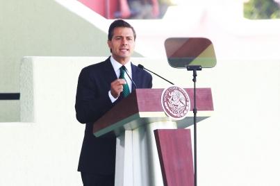 Los actos violentos del crimen organizado no frenarán al gobierno: Presidente Peña Nieto