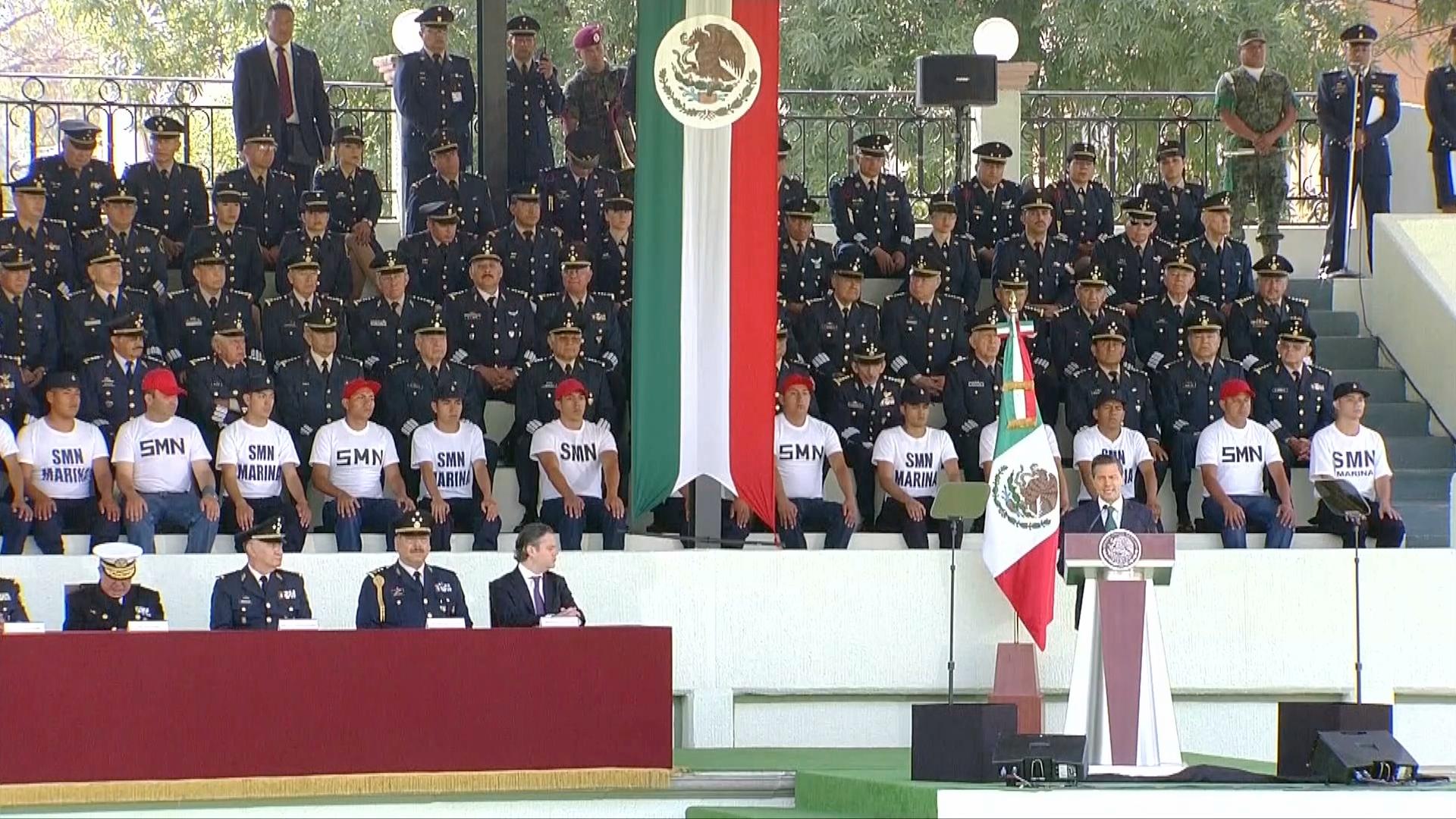 Reconoce el presidente Peña Nieto a las Fuerzas Armadas durante conmemoración del 153 aniversario de la Batalla de Puebla