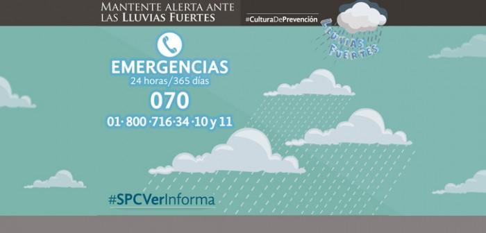 Diversos fenómenos meteorológicos mantienen tiempo inestable en Veracruz: PC