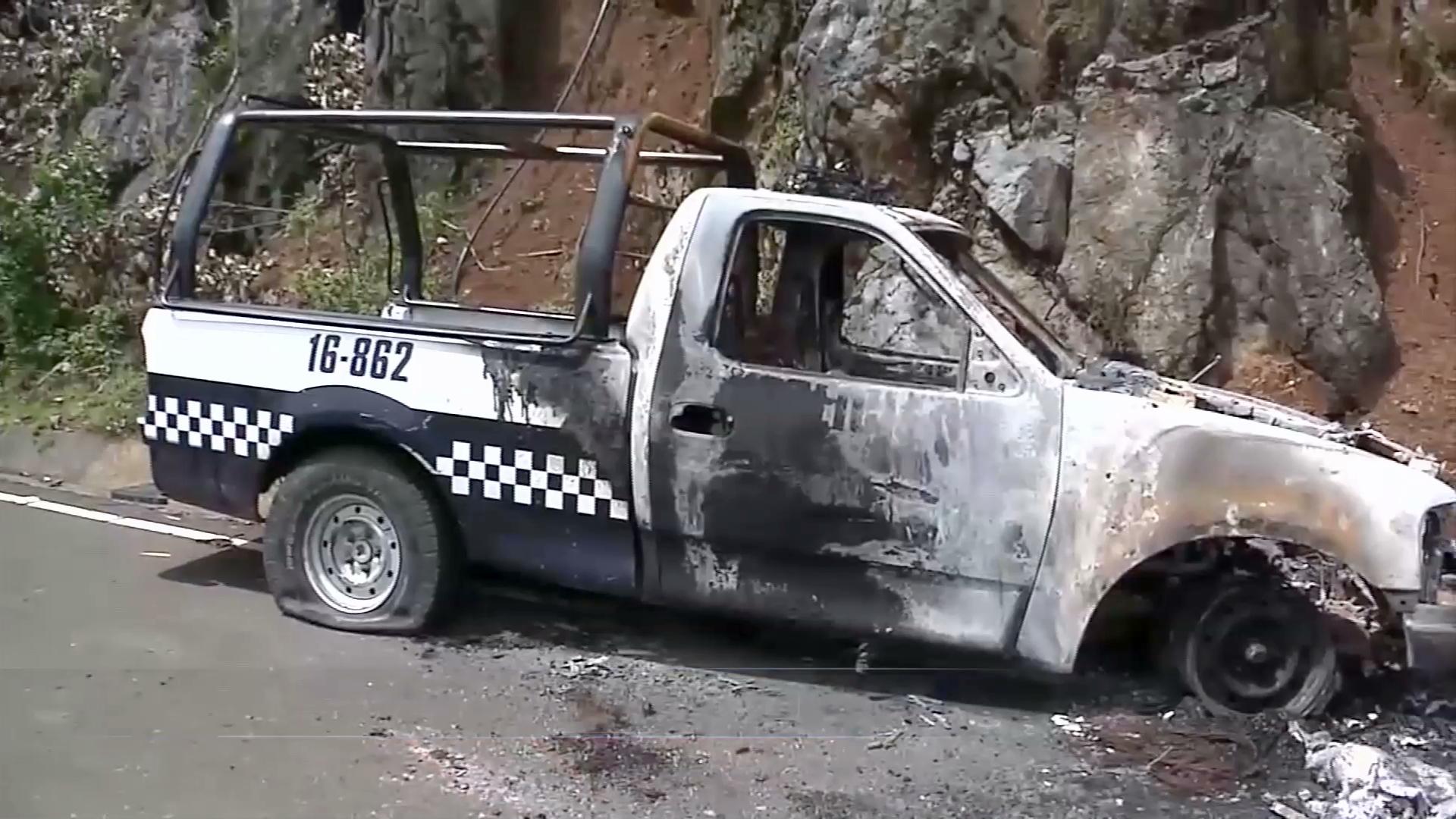 Fuerzas federales y estatales atienden la seguridad en la zona de Nogales