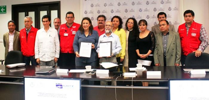 Refrenda PC compromiso de capacitación con la Universidad Politécnica de Tlaxcala