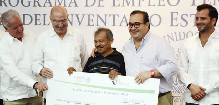 Anuncia Javier Duarte inversión de 40 mdd en cuencas prioritarias