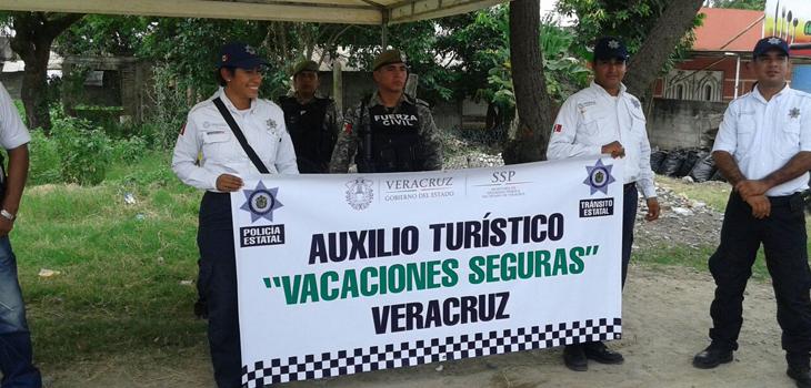 Inaugura DGTSVE módulos de auxilio turístico en Poza Rica