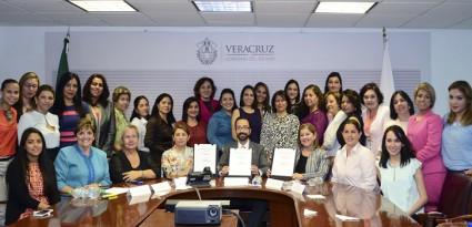 En Veracruz, desarrollo económico y participación empresarial con perspectiva de género: Sedecop