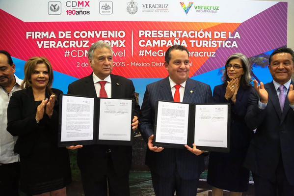 Buscan Sectur Veracruz y SecturDF detonar el turismo