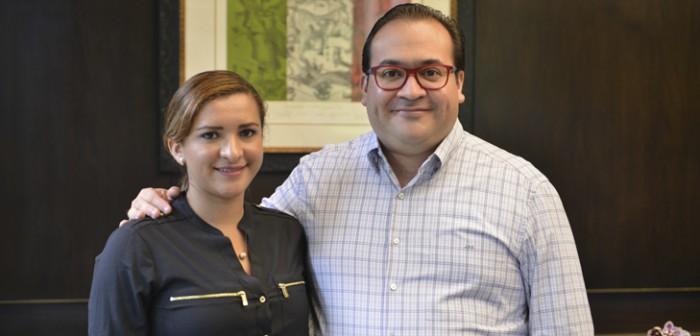 Recibe Javier Duarte a diputada federal plurinominal del PRD