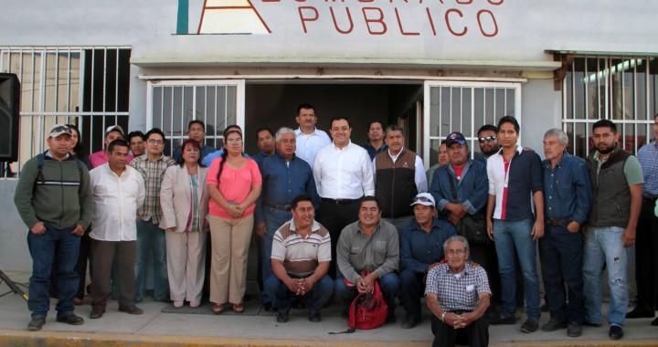 Estímulos económicos a trabajadores del Ayuntamiento de Xalapa