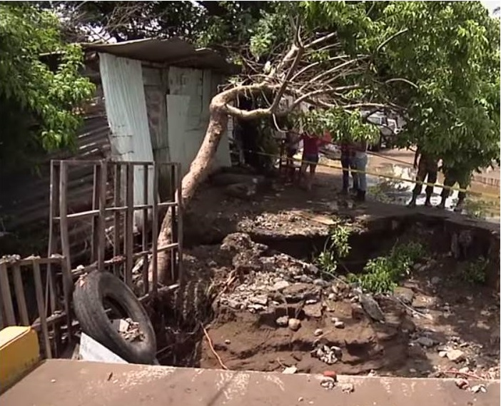 LLuvias afectaron cerca de mil hectáreas en Coatzintla