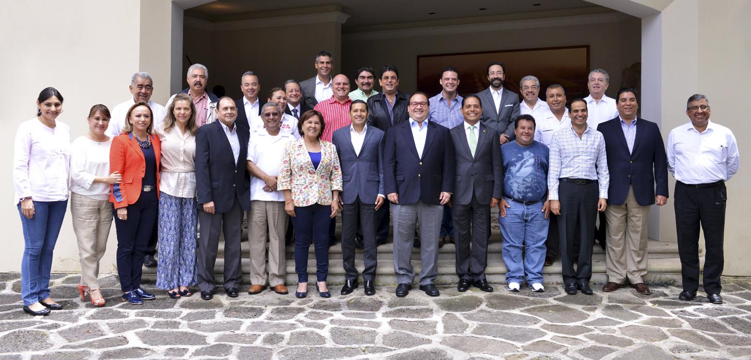 Pide Javier Duarte a diputados federales electos trabajar por un mismo proyecto: Veracruz