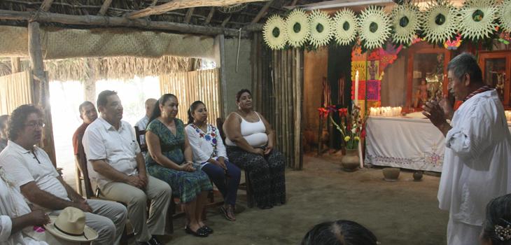 Visita Rectora de la UV el Centro de las Artes Indígenas