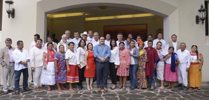 Veracruz respeta, atiende y apoya a sus Pueblos Indígenas: Javier Duarte