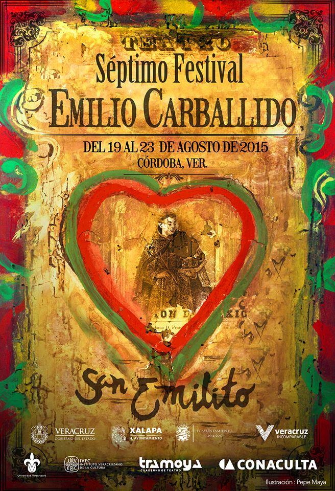 Anuncian cartelera del VII Festival Emilio Carballido