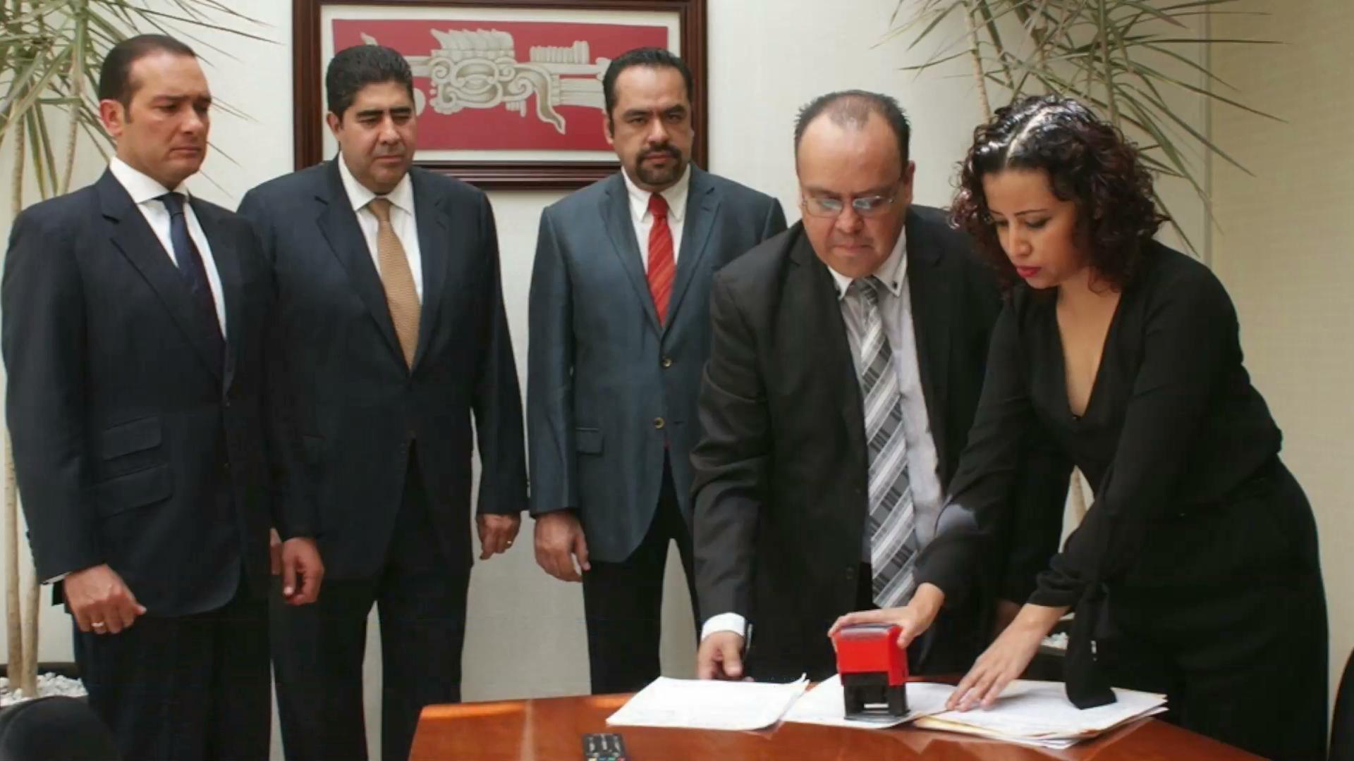 Rinde el gobernador declaración por escrito en torno al caso de la colonia Narvarte