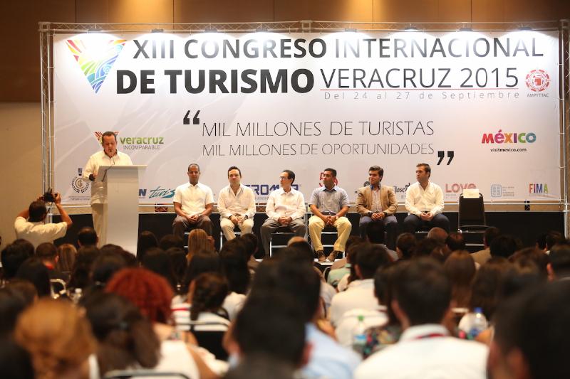 Inaugura Sectur XIII Congreso Internacional de Turismo