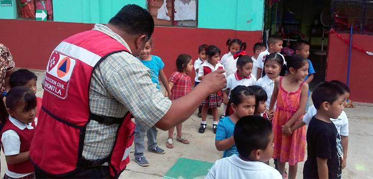 Veracruz se suma a la conmemoración por el Día nacional de Protección Civil
