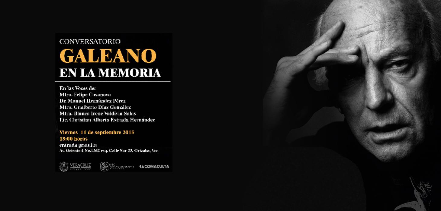 Con conversatorio, rendirán homenaje al escritor Eduardo Galeano