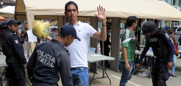 Listo operativo de Fiestas Patrias 2015 en Veracruz: SSP