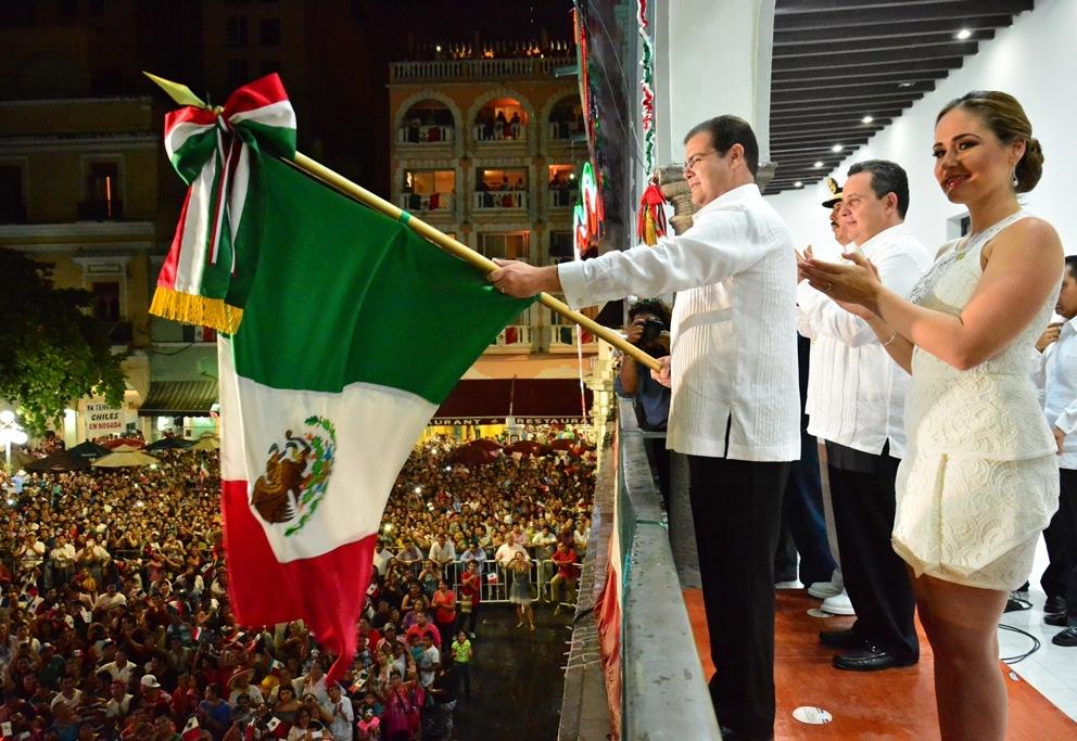 Garantizan seguridad en el puerto de Veracruz para celebrar el Grito de Independencia