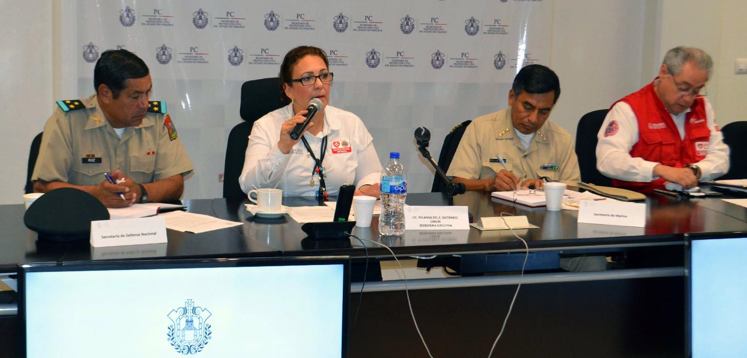 Alerta Especial por deslaves tiene el fin de reducir riesgos en Veracruz: PC