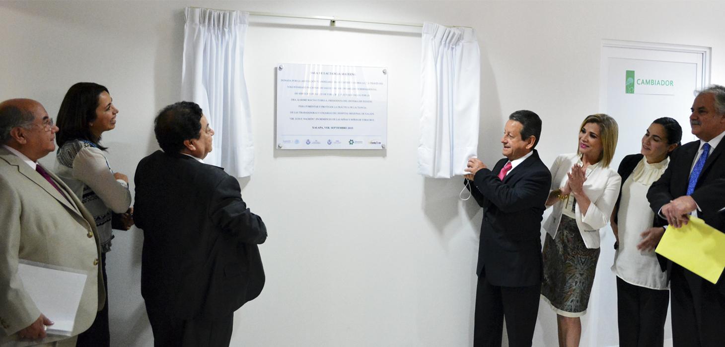 Inauguran Sala de Lactancia en Hospital Dr. Luis F. Nachón