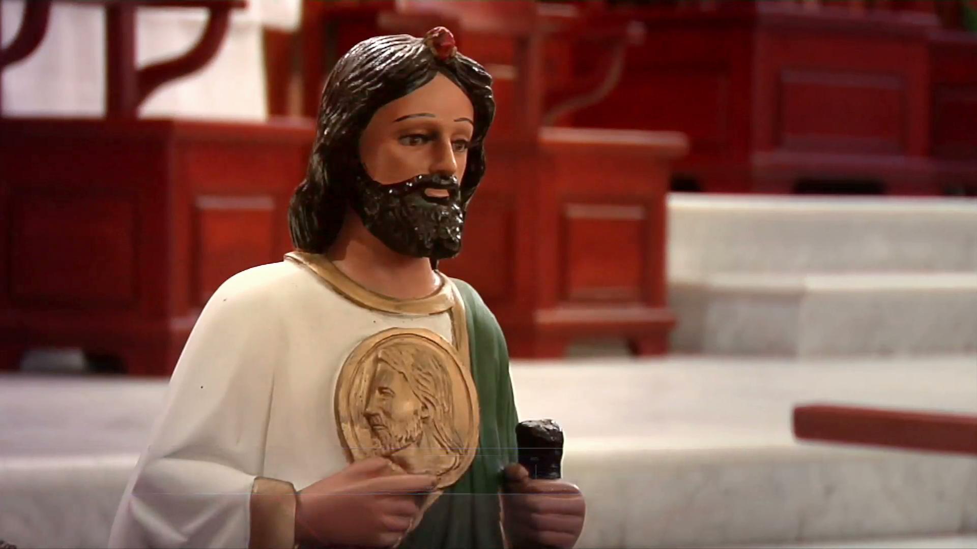 Este 28 de octubre se recordaron los símbolos en las imágenes de San Judas Tadeo