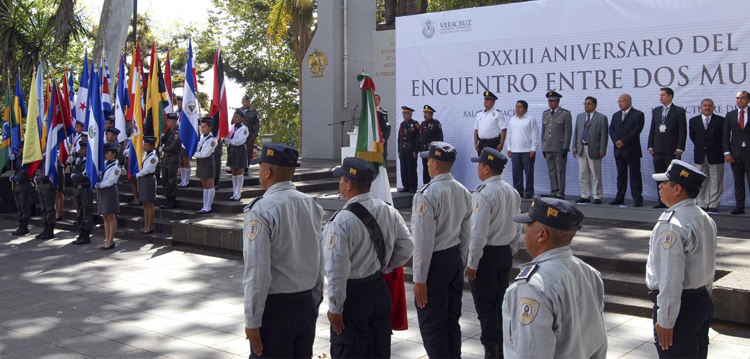 Celebra Gobierno de Veracruz 523 aniversario del Encuentro de Dos Mundos