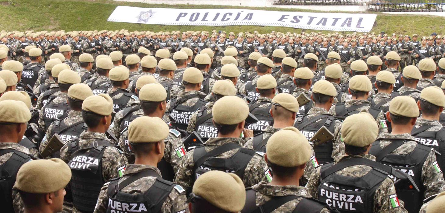 Fuerza Civil, institución confiable, de alto honor y prestigio