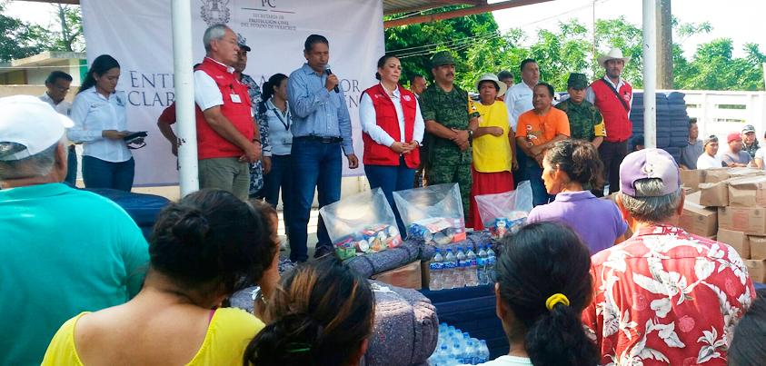 Veracruz es ejemplo nacional en tarea de salvaguardar vida y patrimonio: PC